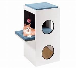 Arbre A Chat Moderne : arbre chat blanco design et moderne arbreachat chat ~ Melissatoandfro.com Idées de Décoration