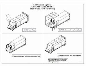 Trash Compactors Types And Installation Layouts