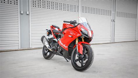 Tvs Apache Rr 310 2019 by Tvs Apache Rr 310 2018 Std Bike Photos Overdrive