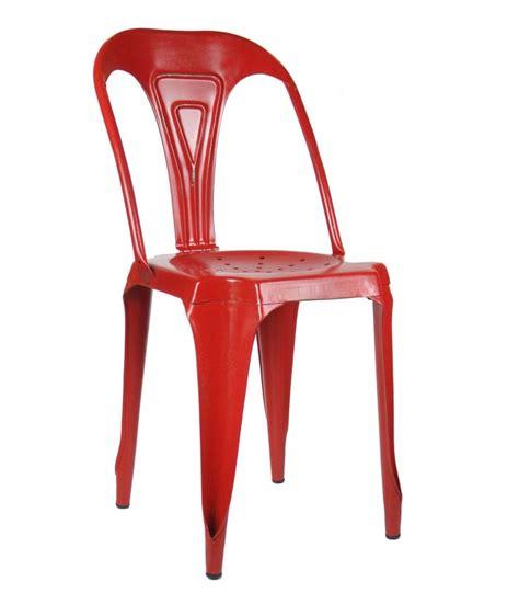 chaise en fer industriel chaise style industriel en métal vintage wadiga com