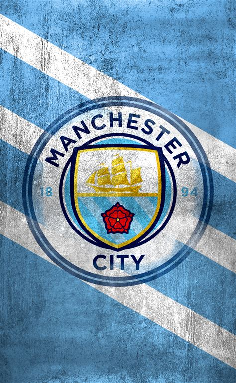 manchester city logo wallpaper wallpapertag