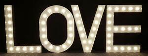 5ft high marquee light up letters 39love39 With 5 ft marquee letters