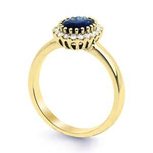 saphir verlobungsring echter 18k gold blau saphir diamant verlobungsring größe j k l m n o p ebay