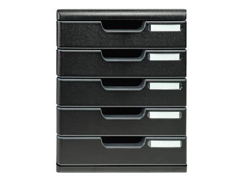 bloc de classement bureau exacompta ecoblack bloc de classement 224 tiroirs 5