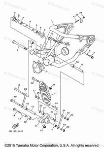 Yamaha Motorcycle 2000 Oem Parts Diagram For Rear Arm Suspension
