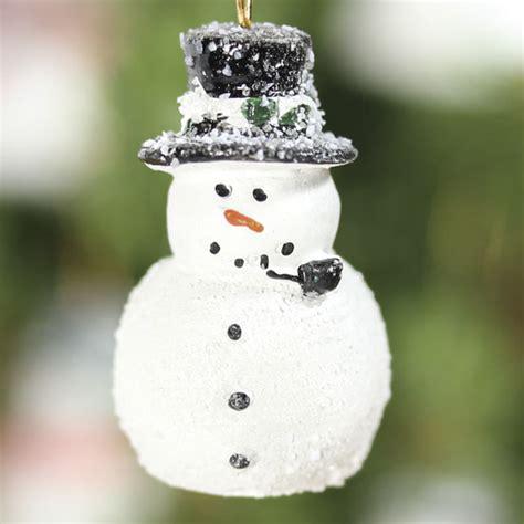 miniature snowman ornaments christmas miniatures