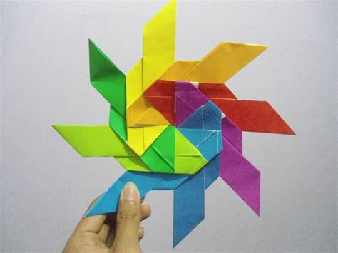 8 Best Origami Ninja Star Images On Pinterest