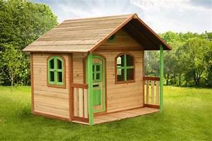 kinder holz spielhaus classic 170cm breit kinderspielhaus With französischer balkon mit kinder garten spielhaus