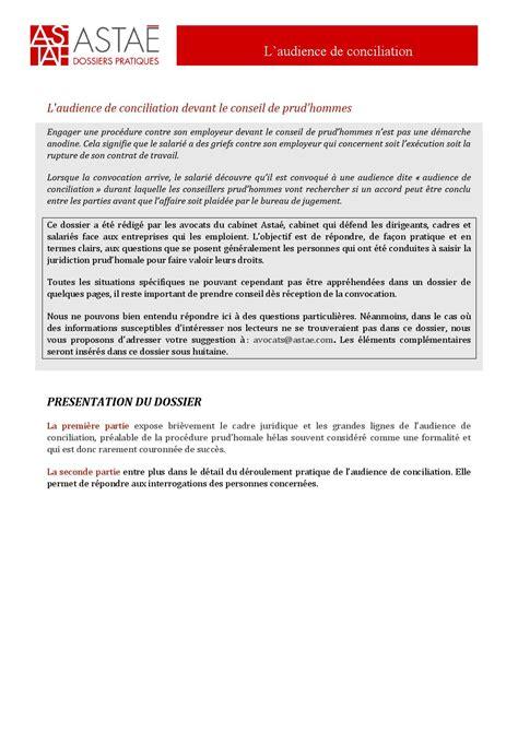 bureau de conciliation prud hommes l audience de conciliation devant le conseil de prud hommes by philippe ravisy issuu