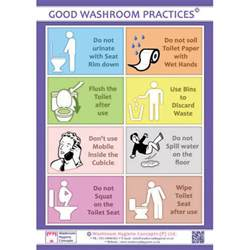 Teacher Bathroom Pass Ideas by Workplace Bathroom Etiquette Posters Just B Cause
