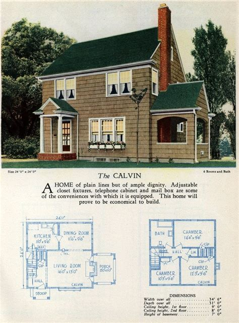 beautiful vintage home designs floor plans    click americana