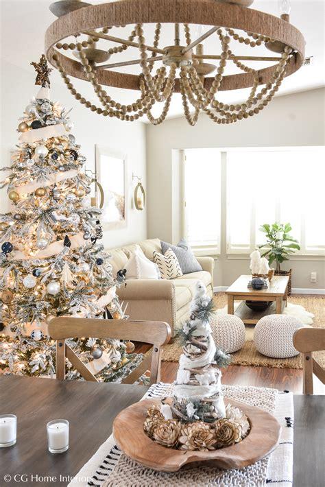 boho inspired christmas decorations