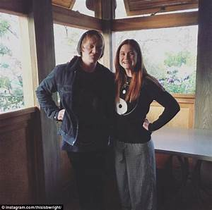 Harry Potter's Bonnie Wright spends 'family time' with ...