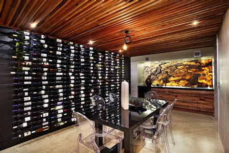 Sensational Decorative Wall Wine Rack Decorating Ideas