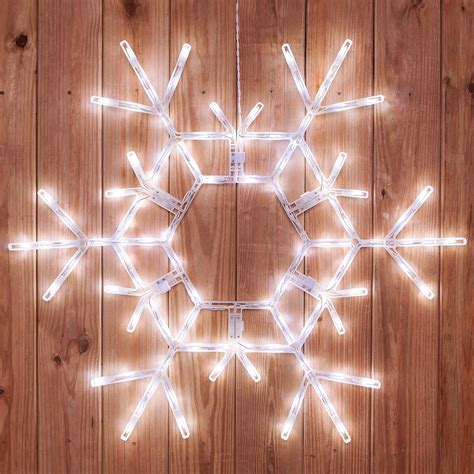 snowflakes stars  led folding snowflake decoration