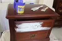 how to make shabby chic furniture Maison Decor: How to Shabby Chic your dark furniture
