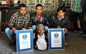 Shortest man in the world: Chandra Bahadur Dangi is ...