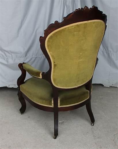 Chair Victorian Arm Rosewood Gentleman Furniture Sold