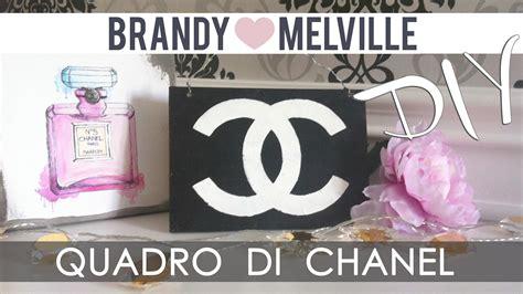 Quadretto Con Logo Chanel Ispirato A
