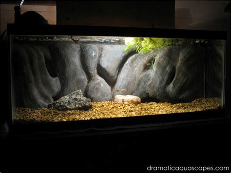 Dramatic Aquascapes by Dramatic Aquascapes Diy Aquarium Background Vertical Rock