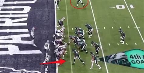 eagles trick play touchdown   illegal