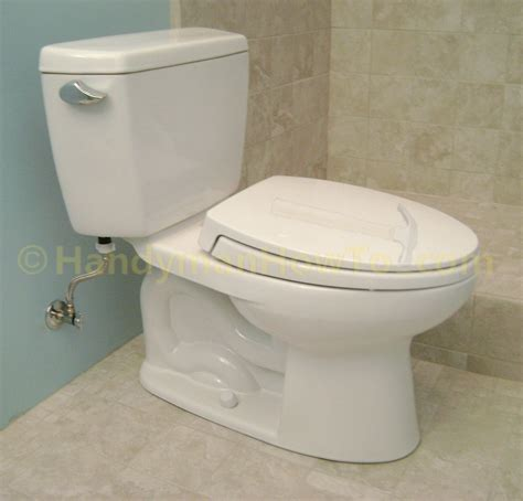 How To Finish A Basement Bathroom  Install The Toilet