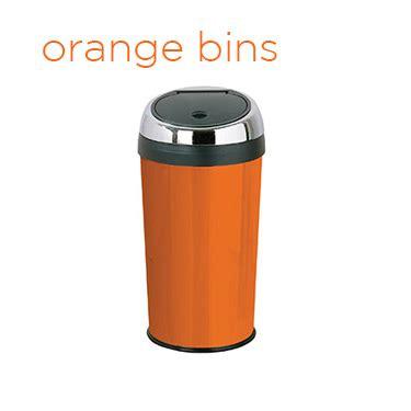 orange kitchen accessories uk orange bins archives my kitchen accessories 3761