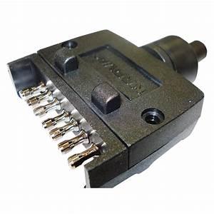 Narva Trailer Plug 7 Pin Flat Blister Pack