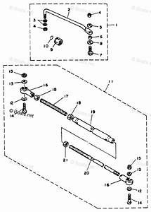 Yamaha Outboard Parts By Hp 25hp Oem Parts Diagram For Steering Guide Attachment 1