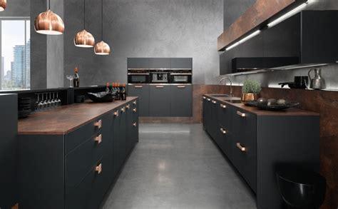 recherche cuisine cuisine noir bois recherche idées deco