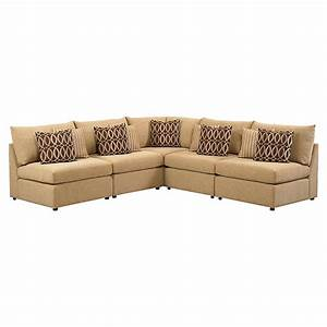 Beckham l shaped sectional sofa by bassett furniture for L shaped sofa with recliner