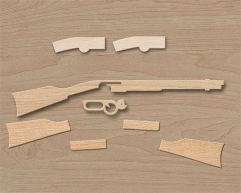 rubber band gun template wooden gun templates images