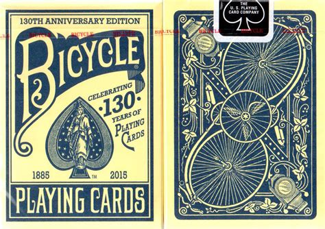 Bicycle 130th Anniversary Playing Cards  Boing Boing