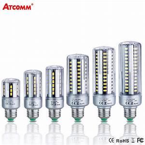 Ampoule Led E27 20w : e14 e27 led diode lamp 85 265v 5w 7w 9w 15w 20w 25w high ~ Edinachiropracticcenter.com Idées de Décoration