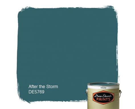 dunn edwards paints blue paint color after the storm