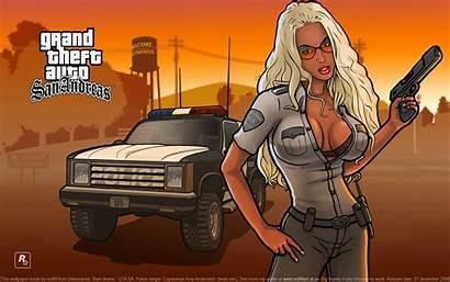 Gta Sa Grand Theft Background Wallpapers Pc