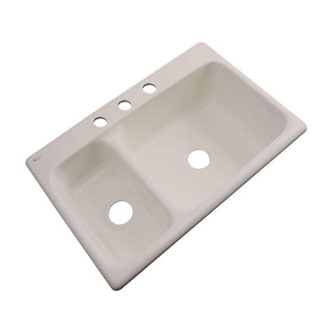 Thermocast Kitchen Sinks Cleaning by Thermocast Wyndham Drop In Acrylic 33 In 3