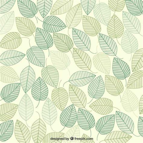 fondo de hojas verdes vectores premium