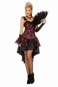 Robin Hood Kostüm Selber Machen : burlesque cancan kleid g nstig online kaufen karnevalcenter ~ Frokenaadalensverden.com Haus und Dekorationen