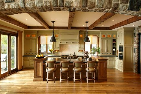 The Cottage  Rustic  Kitchen  Toronto  By Parkyn Design