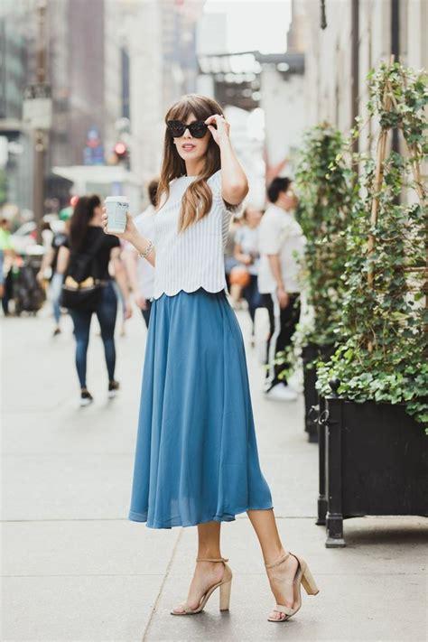 blue skirt outfits ideas  pinterest royal