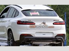 2018 BMW X4 revealed without camouflage UPDATE photos
