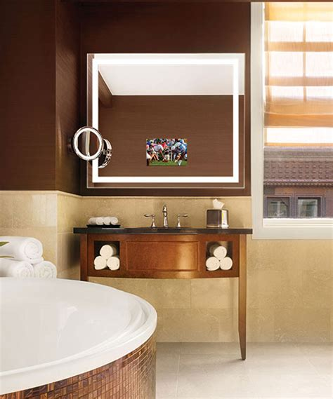 Electric Bathroom Mirrors by Integrity Lighted Mirror Tv Electric Mirror
