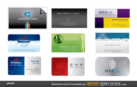 9 Modern Business Card Vector Templates Virtual Business Card Microsoft Mcp Upload To Salesforce University Of Miami Holder Video Clip Apec Travel Usa Best Ever Credit Use Policy Sample
