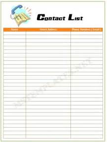 Wordpad Resume Template Contact List Template Save Word Templates
