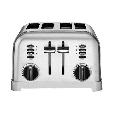 Cuisinart Toaster by Cuisinart Cpt 180 Metal Classic 4 Slice Toaster Brushed
