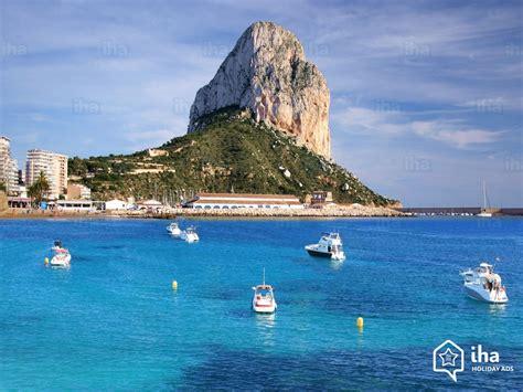 calpe  minute rentals   vacations  iha direct