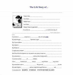 25 biography templates doc pdf excel free premium for My life story template