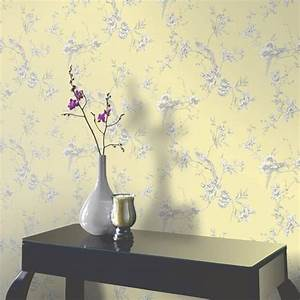 Arthouse Chinoise Wallpaper in Yellow 422804