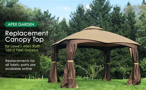 Amazon.com : APEX GARDEN Replacement Canopy Top for Lowe's